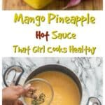 Instantly transport yourself to the islands with this Mango Pineapple Hot Sauce