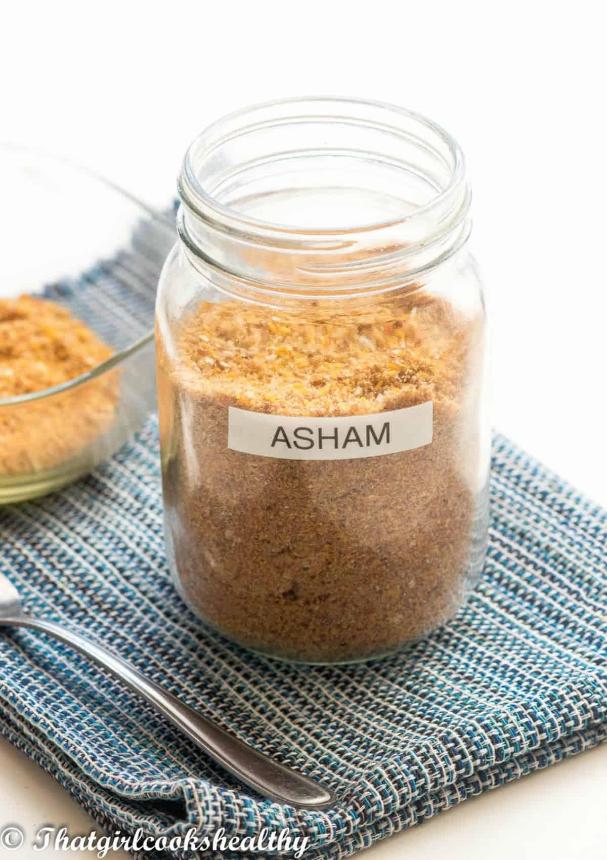 asham in a jar