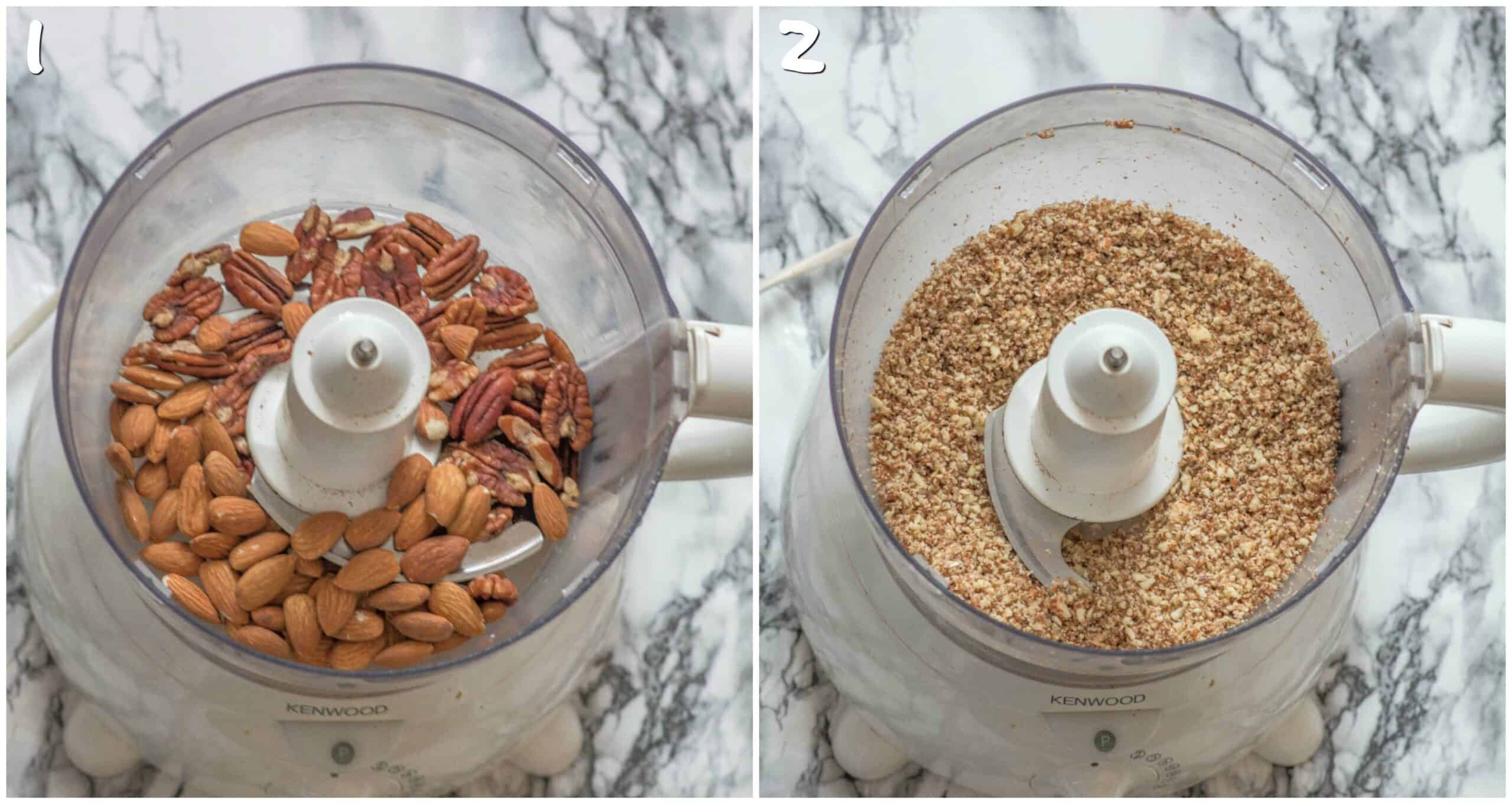 steps 1-2 pulsing the nuts