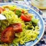 short zucchini salad pin