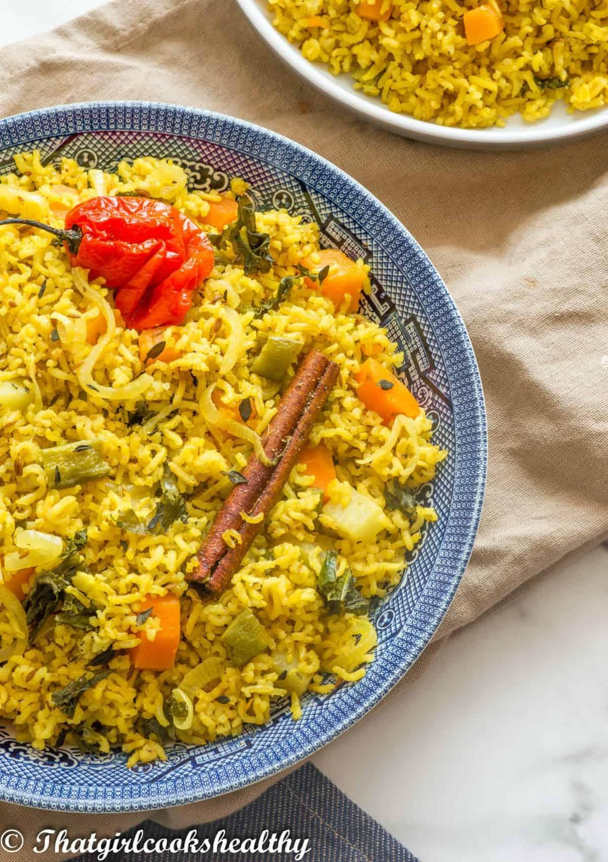 Half a bowl of rice
