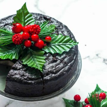 cake with decorations