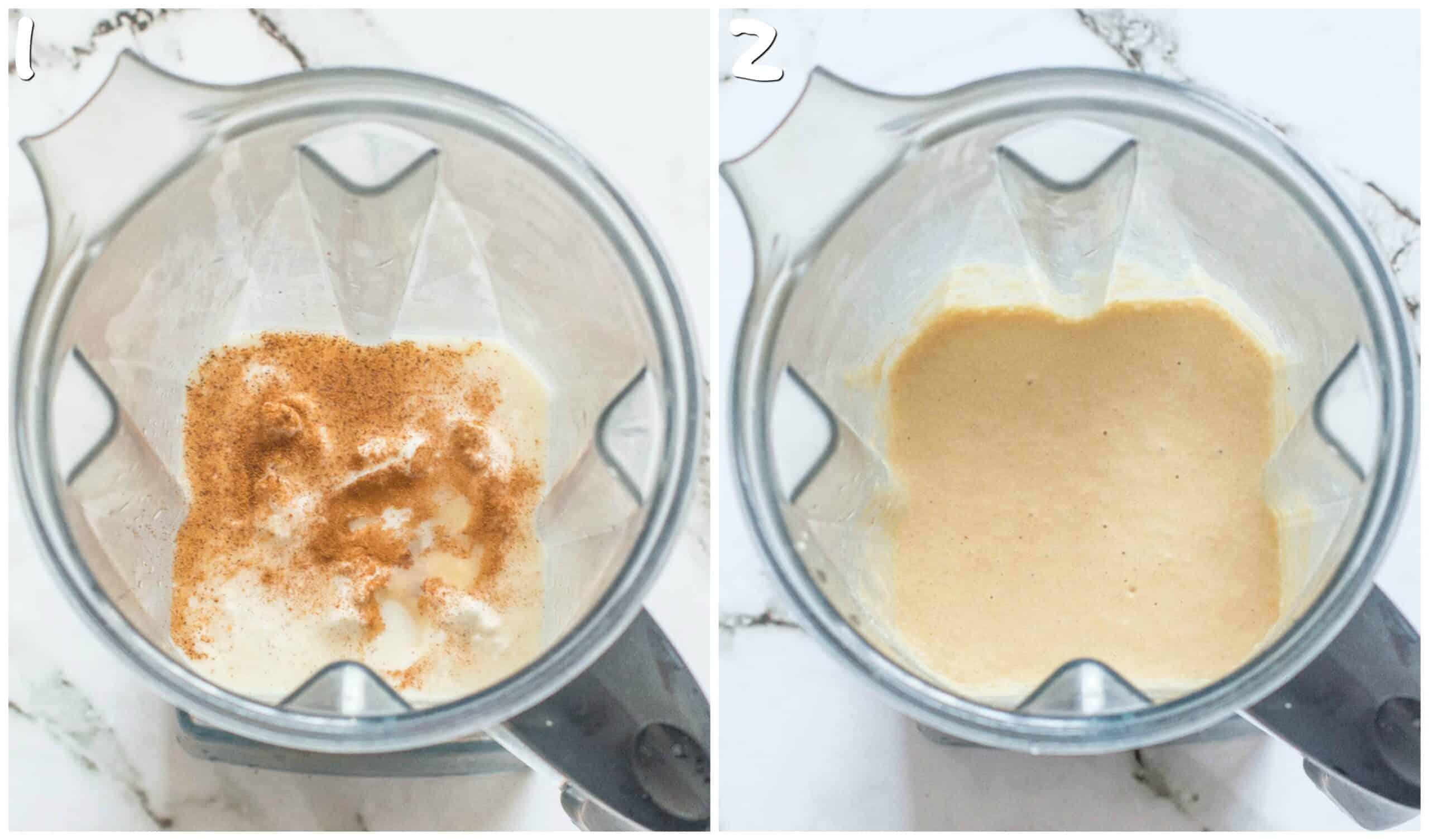 steps1-2 blending the cremas