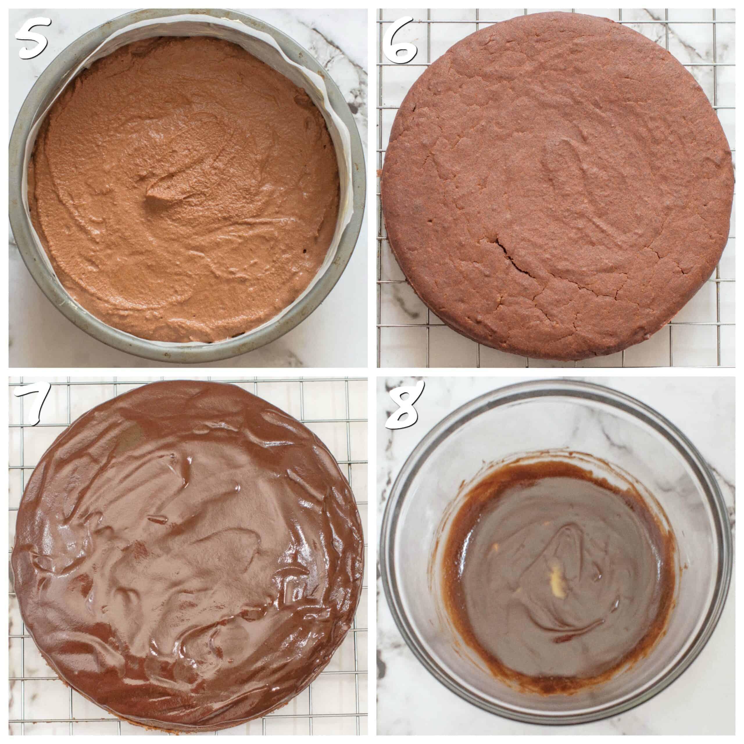 steps5-8baking the cake