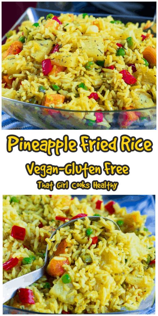 long vegan rice pin