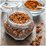 peanuts in a jar